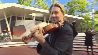 David Garrett - Stayin' Alive - ZDF Fernsehgarten (4-10-2020)