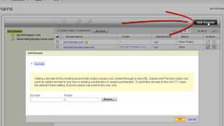 """How To Add Domains to Go Daddy """"Unlimited"""" Hosting Accounts"""
