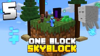 Minecraft Skyblock, But You Only Get ONE BLOCK (#5)
