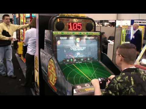 Sea Wolf The Next Mission Video Redemption Game - Sitdown Model - BMI Gaming -Coastal Amusements