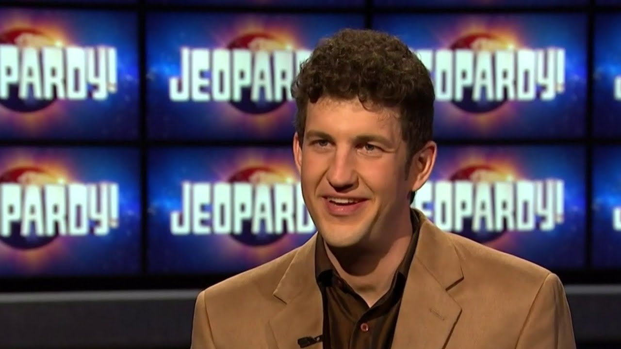 """Matt Amodio's historic """"Jeopardy!"""" winning streak finally over"""