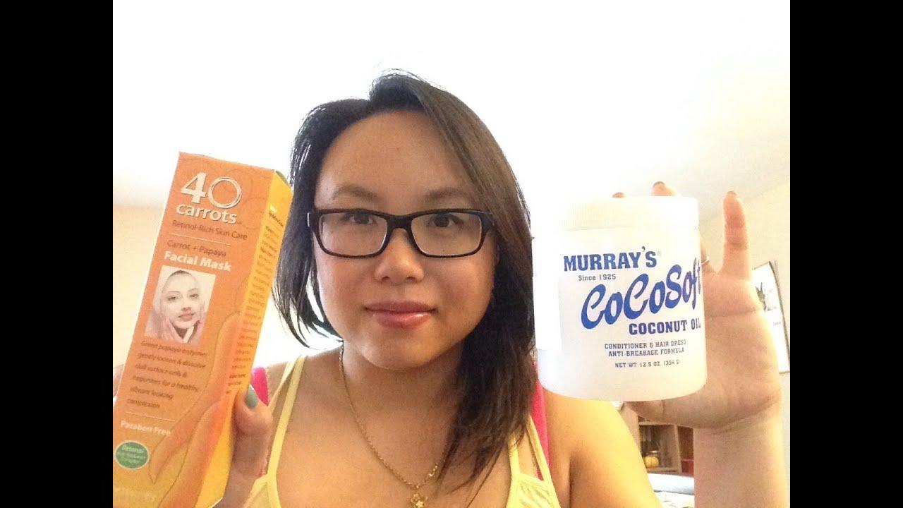 mini skincare haul murray s cocosoft 40 carrots youtube