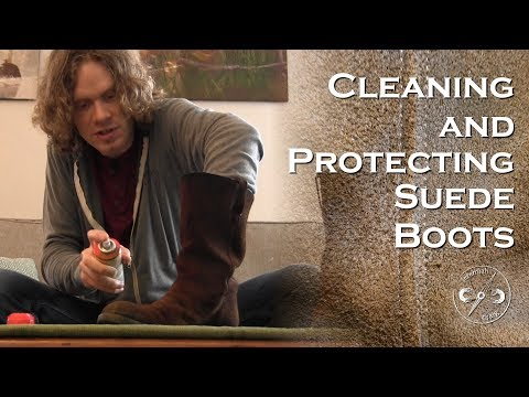 Suede Boots: Cleaning and Protecting