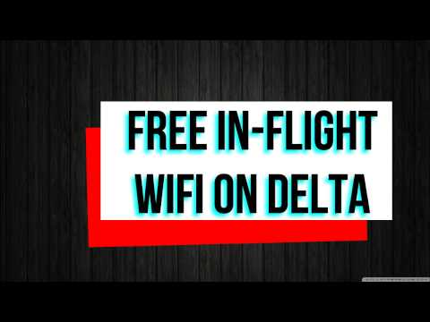 Easy Hack to get Free In-Flight Wifi (Delta)