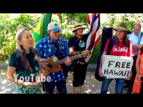 Native Hawaiians DEMAND their island become an independent kingdom.