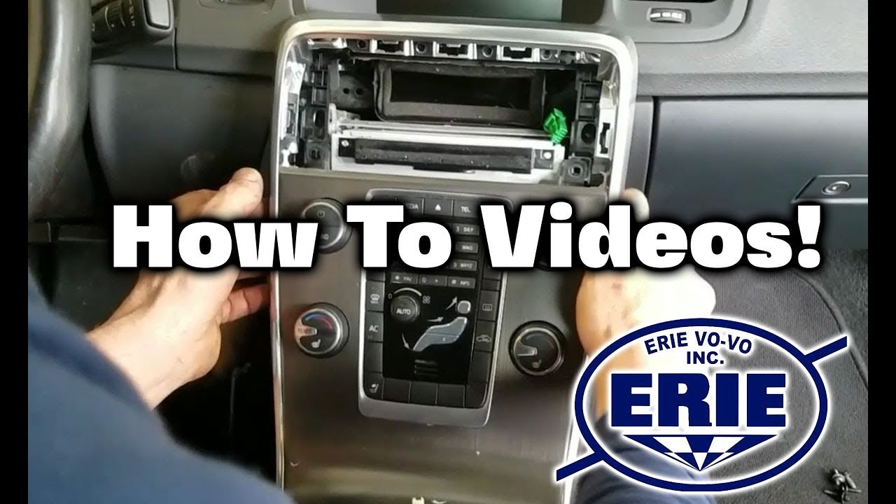 How To Remove Center Console Trim on 2011-2018 Volvo S60