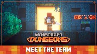 Minecraft Dungeons Diaries: Meet The Team