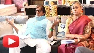 Watch! inside amitabh bachchan's house in mumbai!