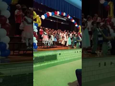 Italy kindergarten graduation ( Rutherford Winans Academy) Detroit, Michigan