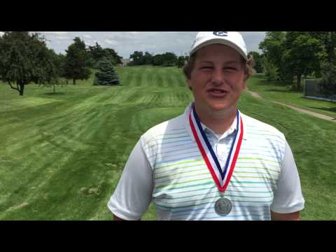 2015 Nebraska Junior Match Play Championship - Qualifying Medalist Alex Schaake