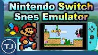 The Best SNES Emulator For The Nintendo Switch! (PSNES)