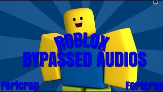 Roblox Bypassed Audio List 2018