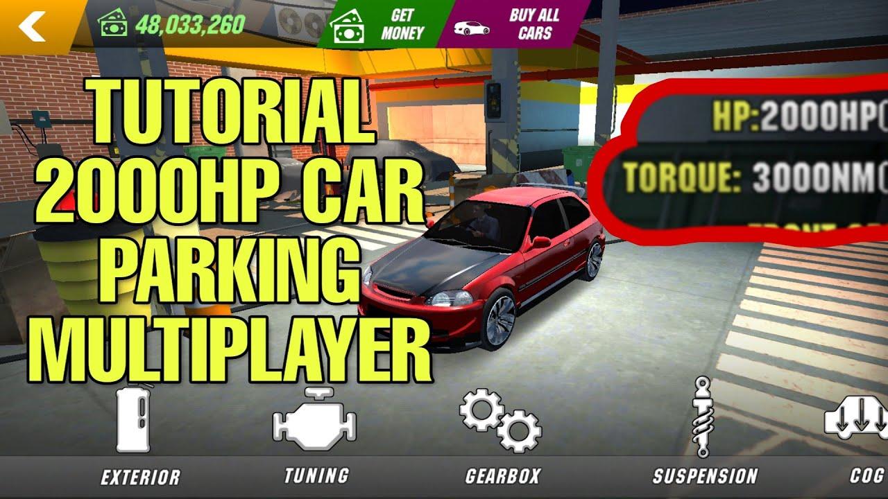 Tutorial 2000hp Car Parking Multiplayer Version 4 5 0 Malay