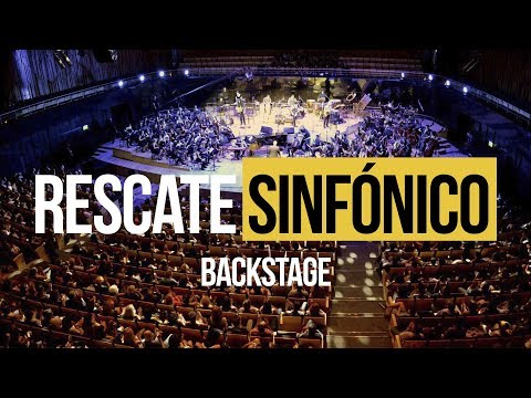 Backstage Rescate Sinfonico - OfficialRescate 2018