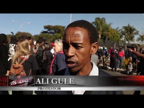 South Africa Broadcasting Protest - LUTV News: South Africa