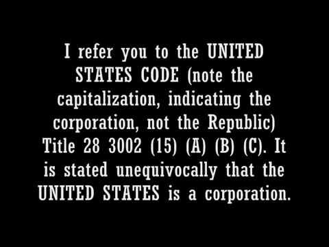 THE ACT of 1871,  United States, Inc., legalese, and what that makes you