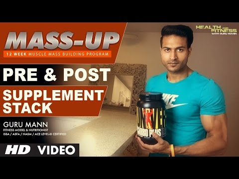MASS UP – SUPPLEMENT STACK (Pre & Post) | Designed & Created by Guru Mann