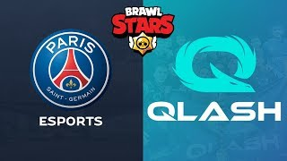 PSG vs QLASH - FINAL BRAWL BALL CUP