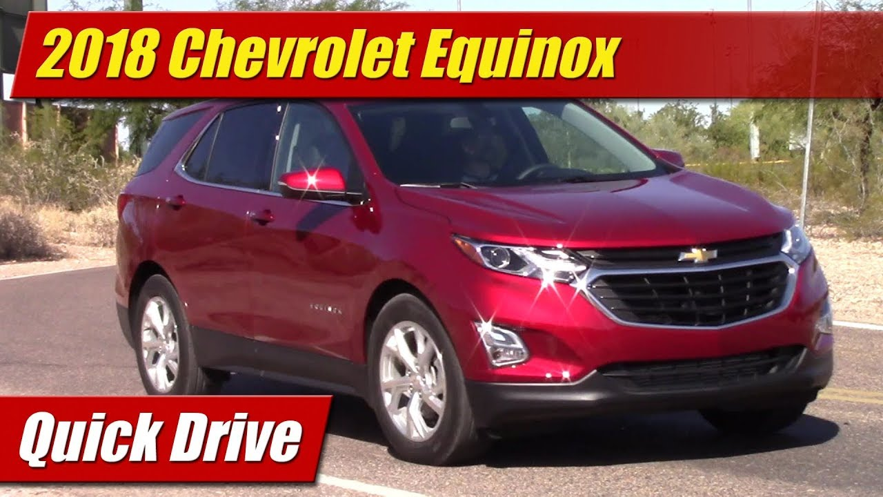 2018 Chevrolet Equinox: Quick Drive - YouTube