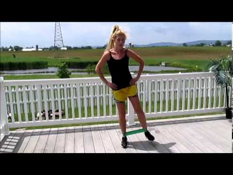 e456843e9 5 Resistance Band Loop Exercises - YouTube