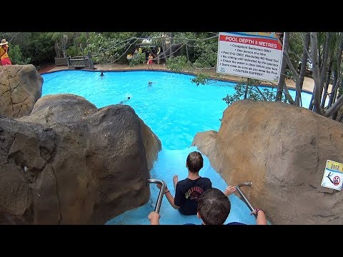 Rock Speed Water Slide at Jamberoo Action Park