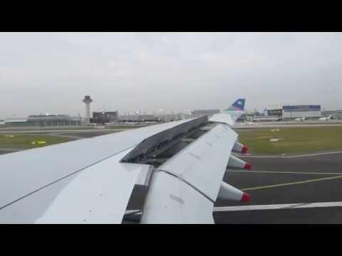 [Timelapse] Air Namibia A330 landing at Frankfurt!!