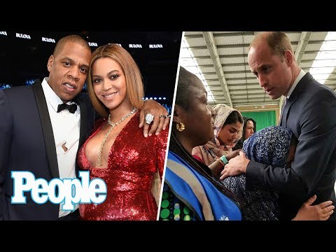 Beyoncé, Jay Z Welcome Twins, Prince William's Emotional Visit Breaks Protocol | People NOW | People