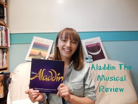 Aladdin The Musical Review | JustJen