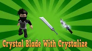 Roblox Assassin Ep.18 Crystal Blade With Crystalize Effect