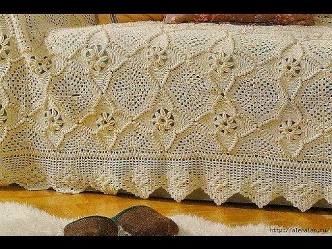 Crochet Patterns For Free Crochet Bedspread 1705 Youtube