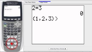 Graphing Calculator - Test Comparisons