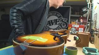 Vintage Framus Guitar Gets Some Help Part 1