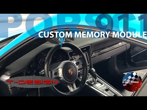 Memory Mod By T-Design For The Porsche 911 / Cayman / Cayenne