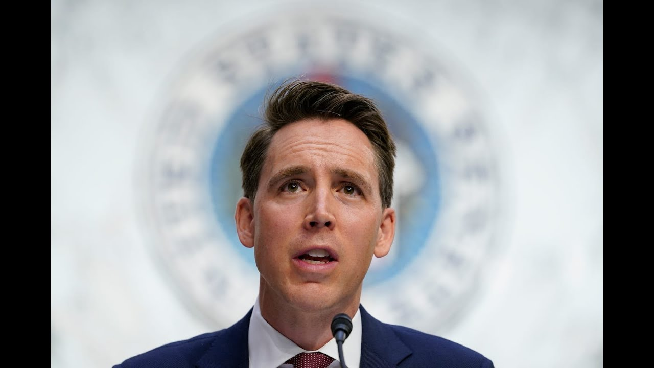 Police: Protesters outside Sen. Josh Hawley's home were 'peaceful'