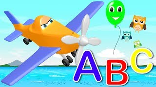 ABC for children - learn abc for children with dusty plane (Songs for Children)