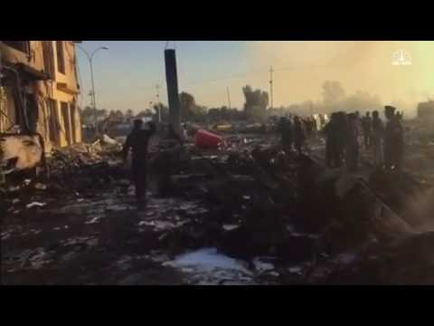 ISLAMIC STATE Suicide Truck Bomb Kills 100+ In Hilla, Iraq