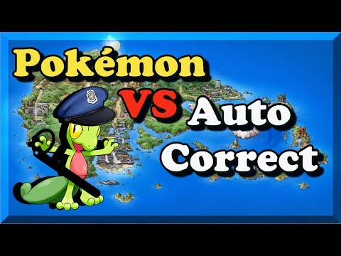 Pokémon vs AutoCorrect Generation 3 Bulba Tube