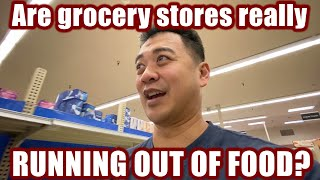 Are grocery stores really running out of food? (NorbCam Reacts)