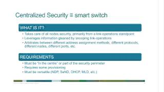 Preparing for BYOD and IPv6 with a Single Security Policy TechAdvantage Webinar
