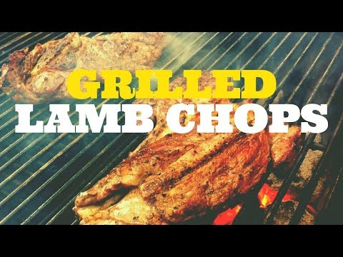 How To Grill Lamb Shoulder Chops | Weber Kettle With The Slow N Sear | Barlow BBQ