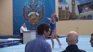 Карелова Елизавета (Ленинск-Кузнецкий) Финал вольные упражнения (2 взрослый)