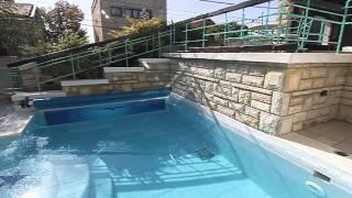 VILA Beograd, Dedinje, bazen i dvorište(, 2014-10-12T22:21:53.000Z)
