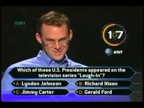 Like a BOSS! [John Carpenter on Who Wants To Be a Millionaire]