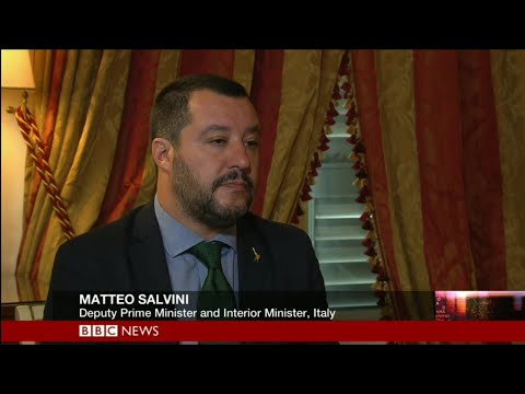 HARDtalk | Matteo Salvini,Deputy Prime Minister and Interior Minister, Italy