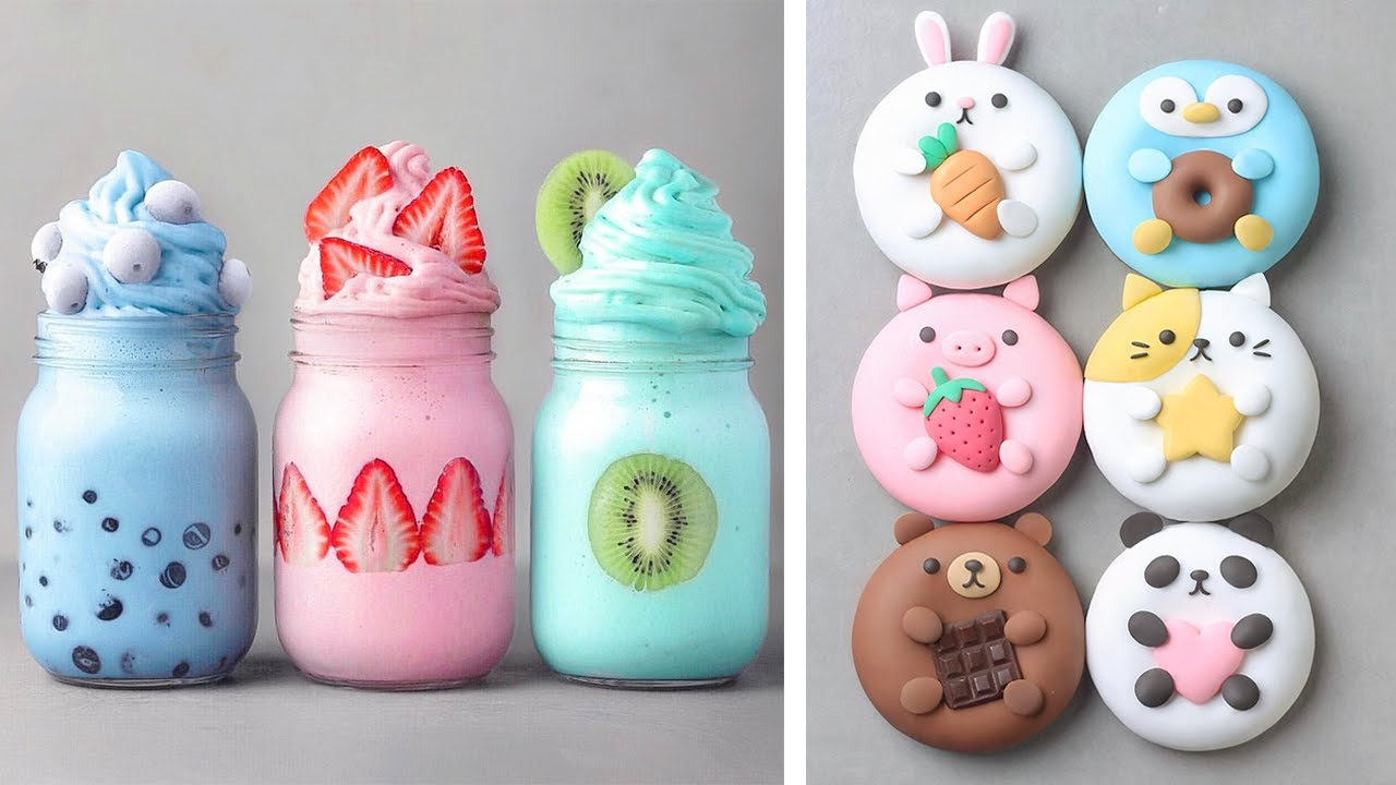 Cute Donuts Cake Decorating Tutorials For Birthday | Indulgent Chocolate Cake Recipes You'll Love