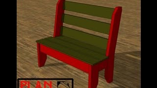 Chief's Shop Plan Of The Week: Porch Bench
