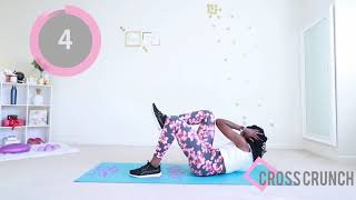 5 Min ABS WORKOUT - No Equipment Home Exercises