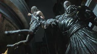 Resident Evil 3 Remake - Nemesis Movesets & Finishers Animations