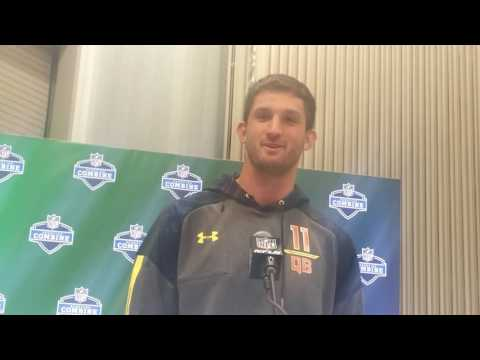 Nathan Peterman at NFL Combine