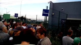 Переход границы - Польша, задержки на границе Польши.